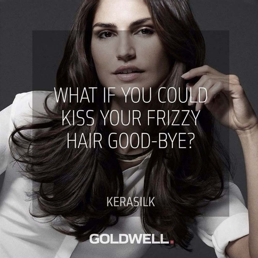 What if you could kiss your frizzy hair goodbye